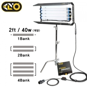 Kino Flo 2FT 4Bank Two Light Kit (Tung Light/Dayligh)